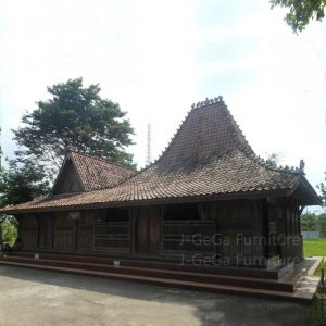 Joglo Jati Kuno Rumah Tradisional Adat Jawa