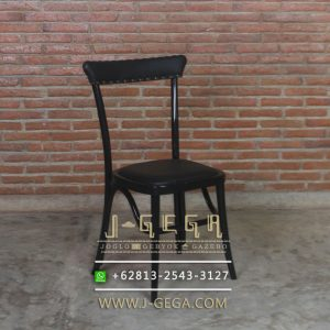 Jual Kursi Cafe Jesslyn Black Shabby