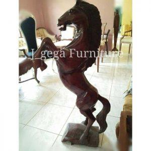 Relief Patung Kuda Jingkrak Prancing Horse