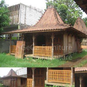 Rumah Joglo Gebyok Betawi Ukiran Jepara