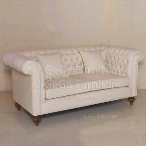 sofa minimalis klasik modern bantalan