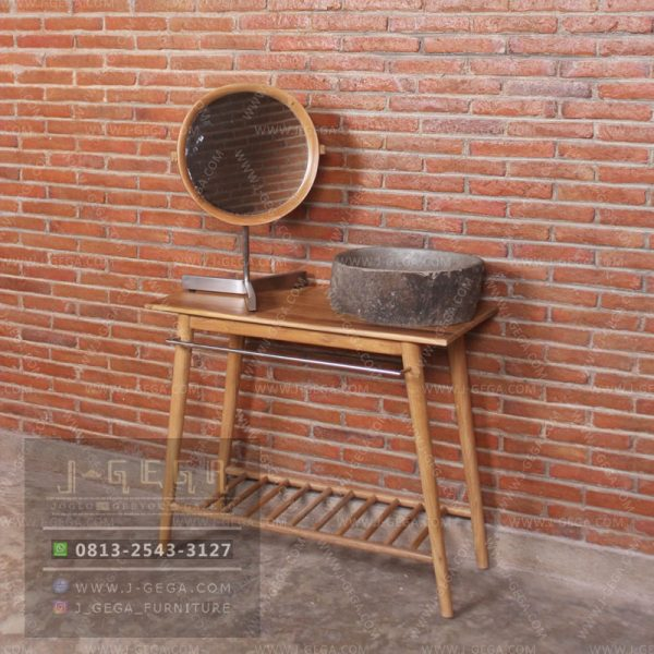 Harga Jual Zad Console Table With Mirror