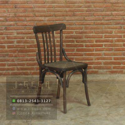 Harga Jual Rustic Slat Chair Rattan