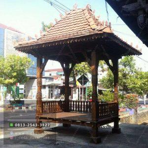 Pusat Jual Gazebo Jati Janggala