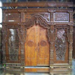 Pusat Jual Gebyok Kaligrafi Ukir Jati Jepara