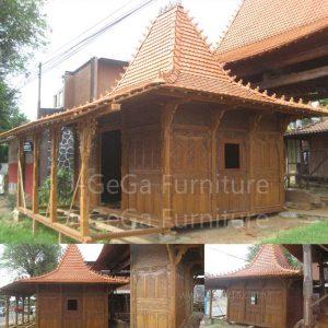 Rumah Joglo Jati Gebyok Ukiran Jepara