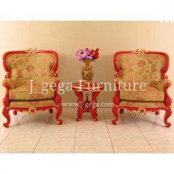 Sofa Set Bao Bao Cat Duco Merah