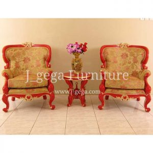 Sofa Set Bao Bao Cat Duco Merah