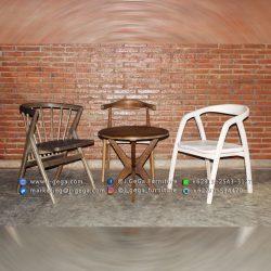 jual set kursi meja cafe unik terbaru di surabaya