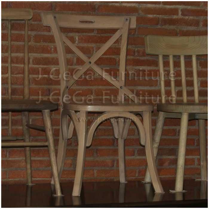 kursi danica crossback untuk meja makan resto