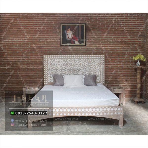 Harga Jual Tempat Tidur Samaya Bed Kayu Jati
