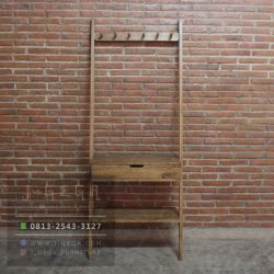 Jual Hanging Rack 1 Drawers Jati
