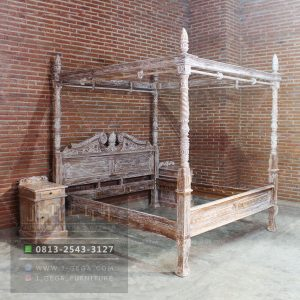 Harga Jual Canopy Colonial Bed King