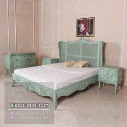 Harga Jual King Rattan Wing Bed