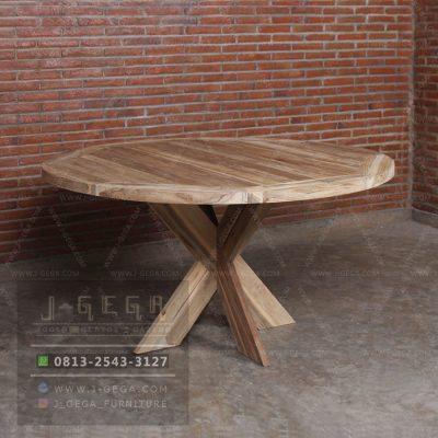Harga Jual Teak Round Dining Table
