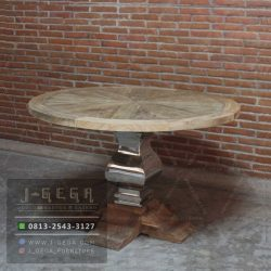 Harga Jual Texas Dining Table Reclaimed Teak