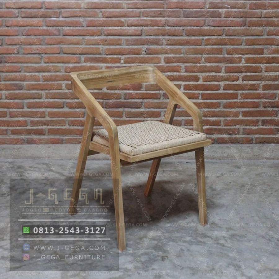 Jual Teak Cadenza Chair Retro
