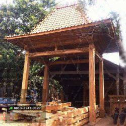 Gapuro Bali Kayu Jati Ukiran Jepara