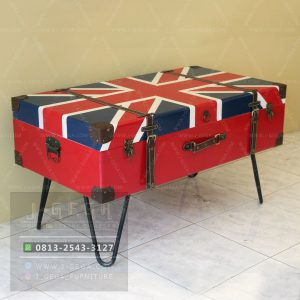 Harga Jual English Flag Box Coffee Table