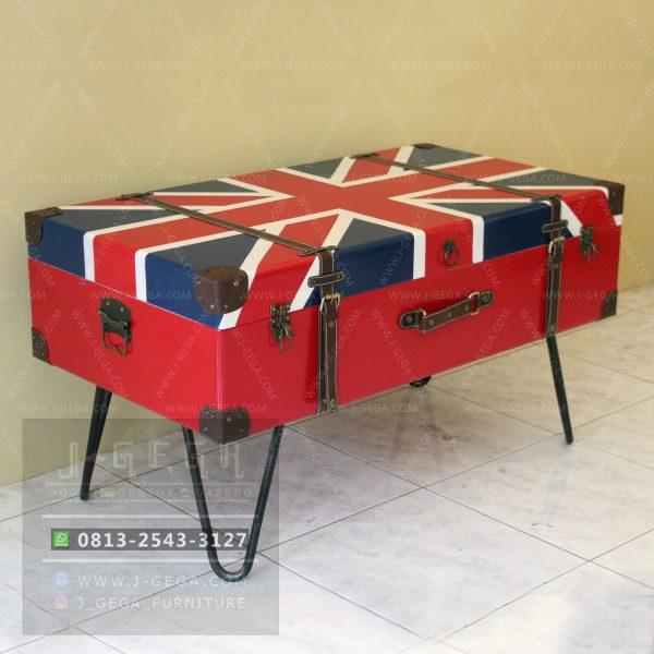 Harga Jual English Flag Box Coffee Table