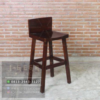 Harga Jual Modern Wood Barstool