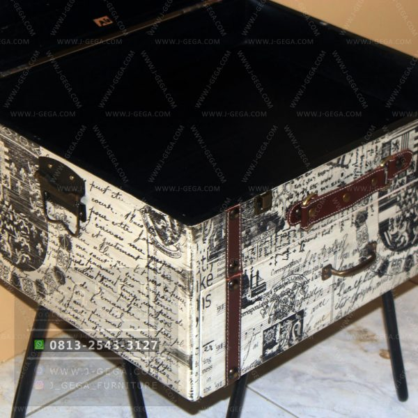 Harga Jual Vintage Small Box Table Industrial