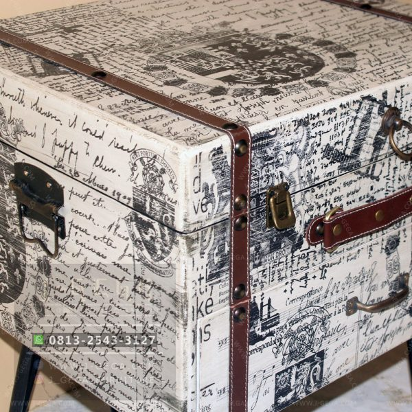 Harga Jual Vintage Small Box Table Jepara