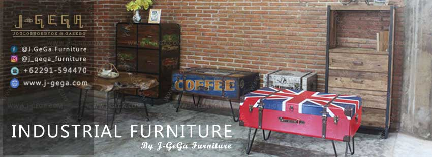 Industrial Furniture Collection By J-GeGa Furniture Jepara