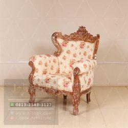 Harga Jual Karma Chair Sofa Kayu Jati Rustic
