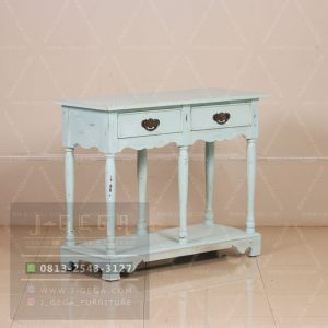 Pusat Jual Colonial Console Table Blue Glue Rustic