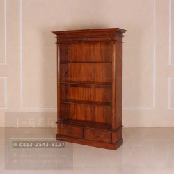 Pusat Jual Victorian Open Front Bookcase