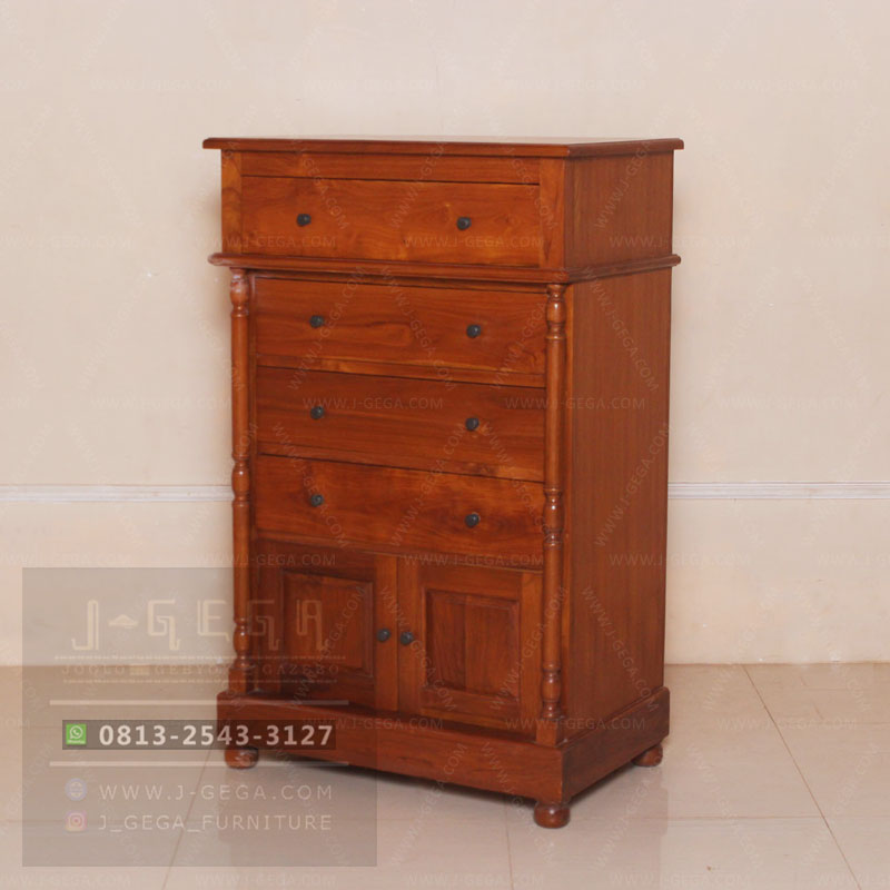 Pusat Jual Classic Chest 4 Drawers