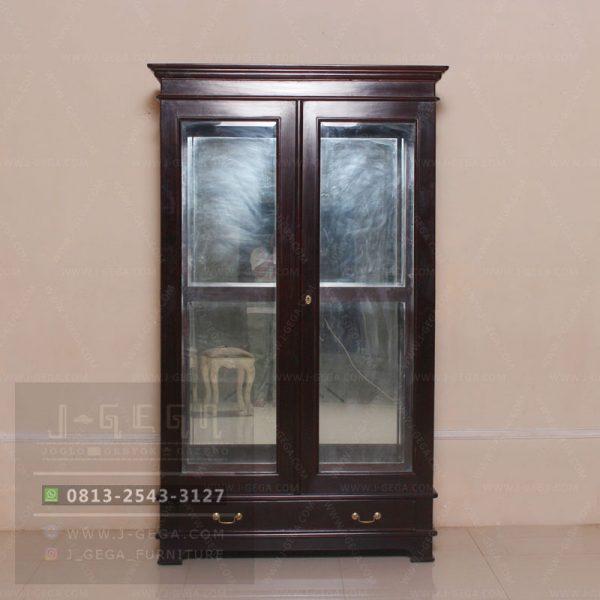 Pusat Jual Louis Diplay Cabinet 2 Door
