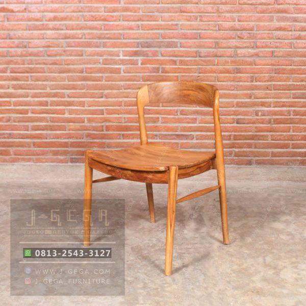 Toko Jual Ross Chair Retro Minimalis Kayu Jati