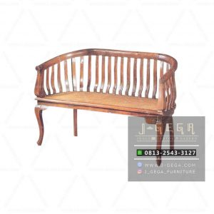 Teak Betawi Chair 2 Seater (MBN 005)