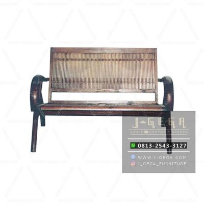 Sedan Bamboo Chair 2 Seater (MBN 002 B)