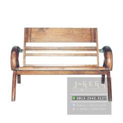 Sedan Wood Chair 2 Seater (MBN 002 W)
