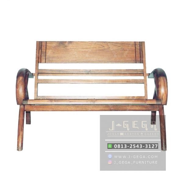 Sedan Wood Chair 2 Seater (MBN 002 W)