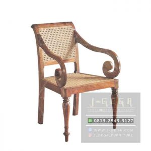 Regency Chair Kayu Jati (MAC 021)