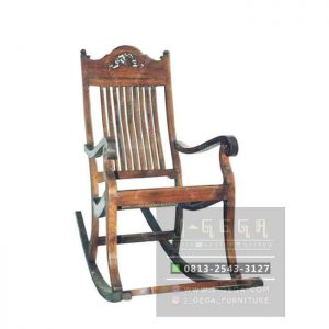 Slat Rocking Chair (MAC 008)