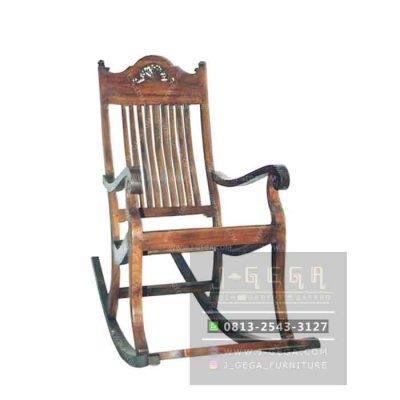 Slat Rocking Chair (MAC 008)